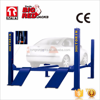 Tongrun Torin Bigred 4Ton Four Post Car Parking Lift Hoist