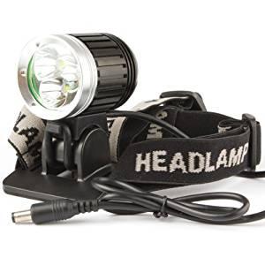 Worldoor® Hot New 3X CREE XM-L T6 LED 3800Lm LED Headlight Headlamp and Bicycle Light Bicycle Light Bike Lamp HeadLight headLamp (Generic Packaging)