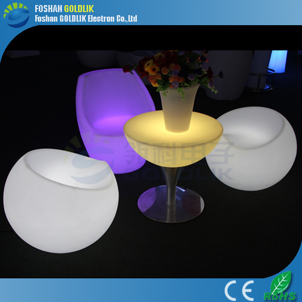 GLACS led music dancing furniture Christmas decoration products outdoor illumination LED table