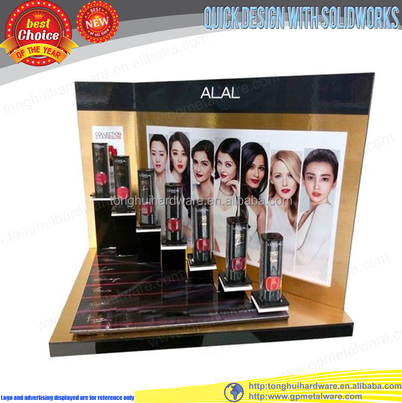 Salon desktop acryl lippenstift display stand