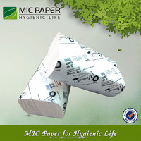 mixed material 1ply or 2ply Z fold hand paper towel