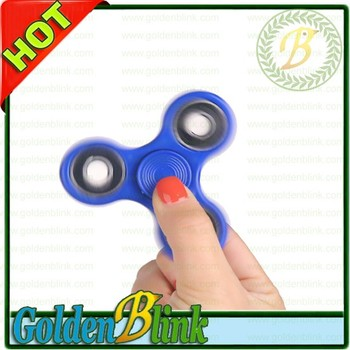 Hot sell 6 colors ABS hand finger fidget spinner