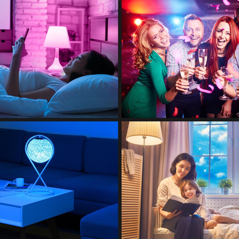 Amazon Grosir 12 W Smart LED Light & Smart Lampu Kontrol WIFI Bohlam LED