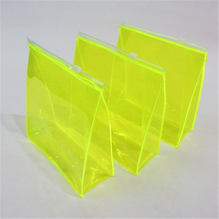 New multi-color transparent pvc gift & cosmetic bag