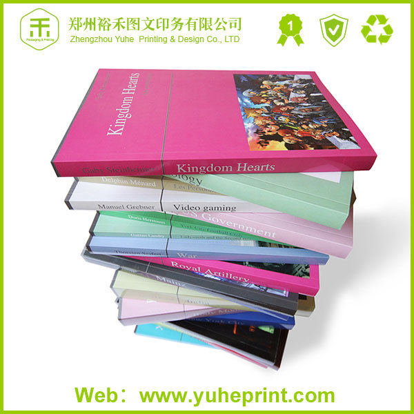 2014 high quality professional printing perfect binding vernishing surface finishing children hardcover my hot book