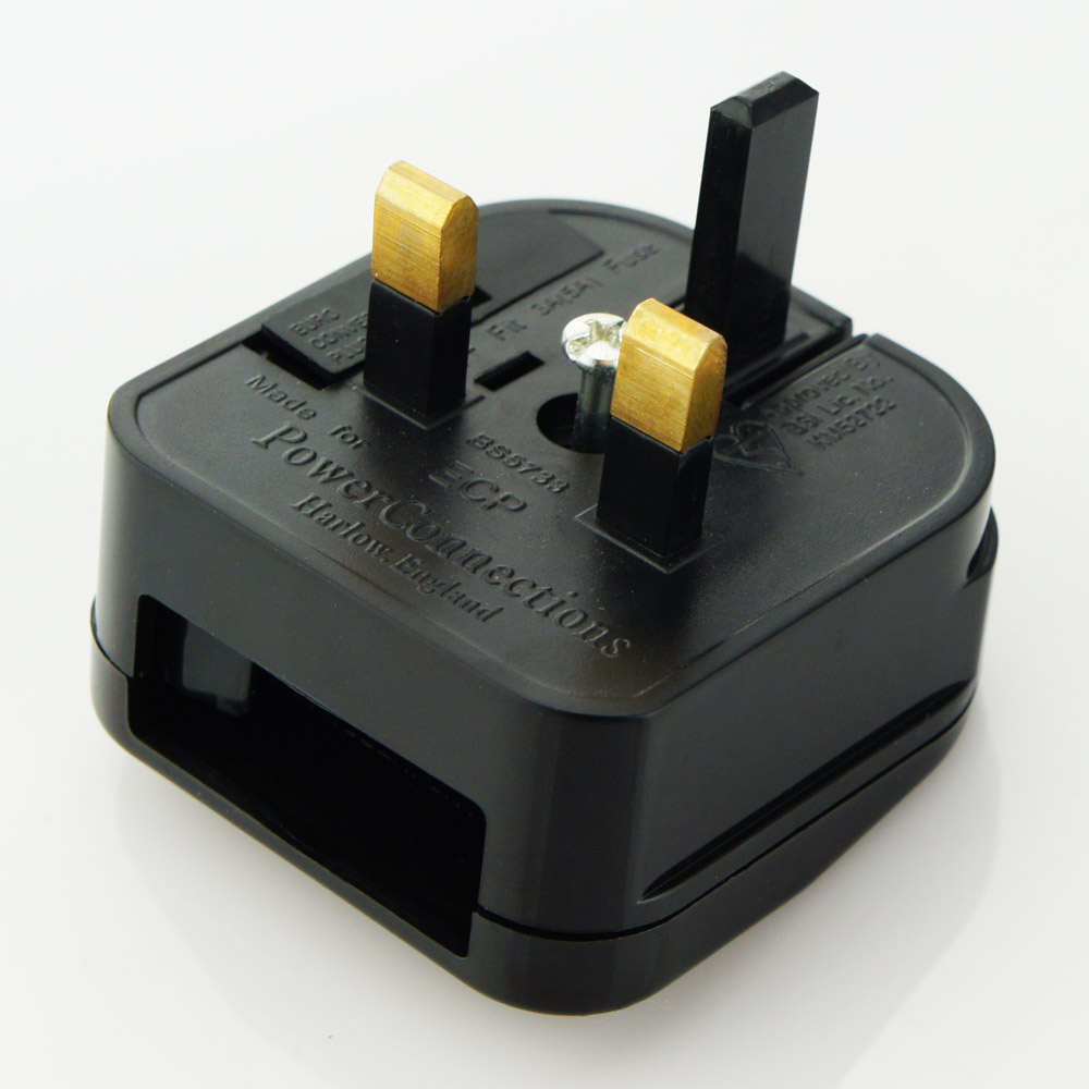EU to UK Euro Plug Converter Travel Charger Adapter AC Power Plug Adapter
