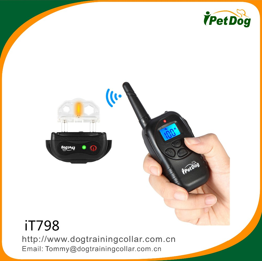 Bulk pet supplies pet accessories electronic product dog training collar shock control collar with remoter