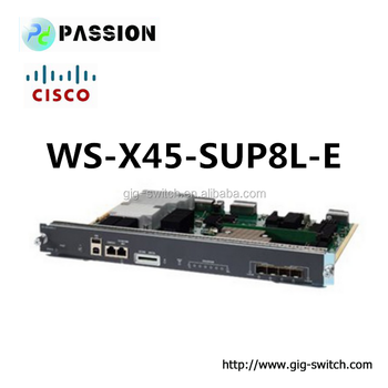 Cisco Wsx45sup8le Catalyst 4500 Eseries Supervisor 8le