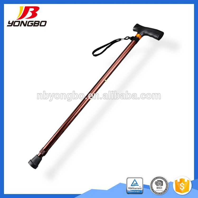 Foldable Cane With Led Light Hiking Cane Old Man Walking Stick