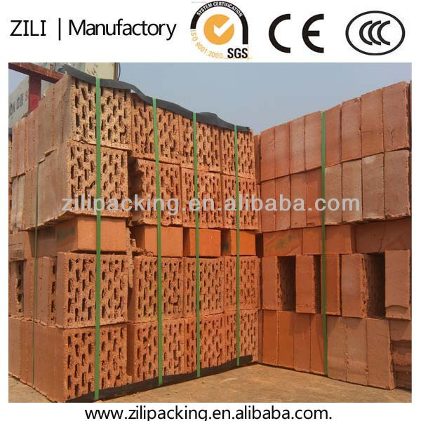 the most economical way for brick packaging