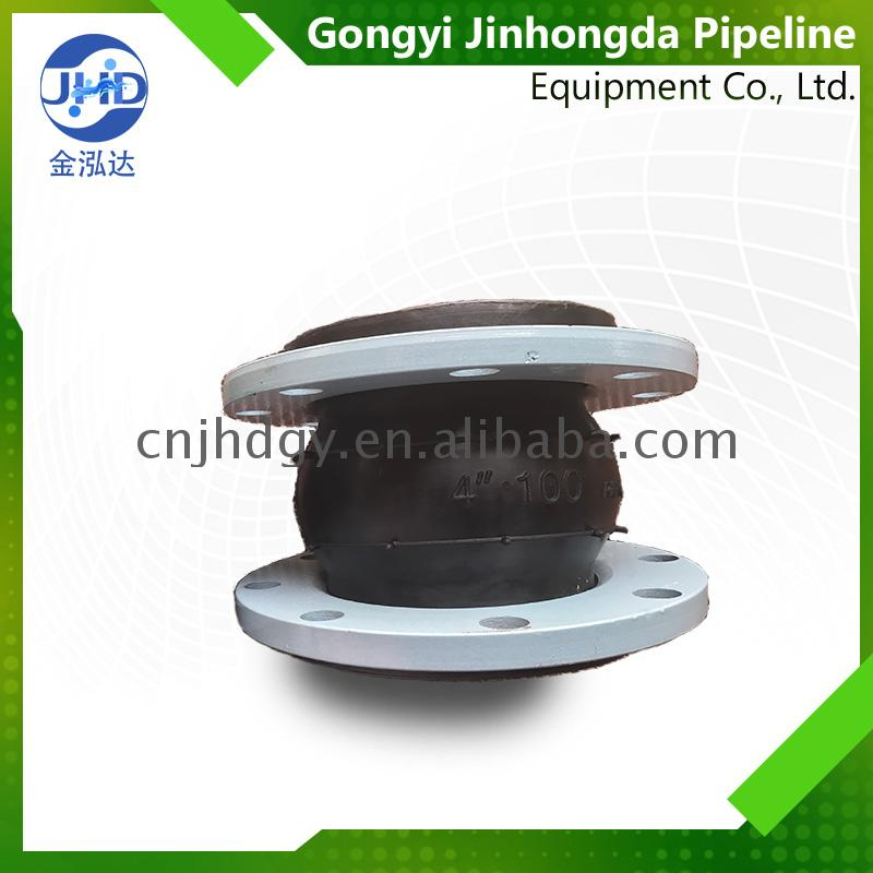 Custom printed Compensator Rubber Bolt Connection Joint ANSI/DIN /BS standard rubber expansion joint