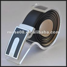 M8027 Black fashion belts with changeable buckles