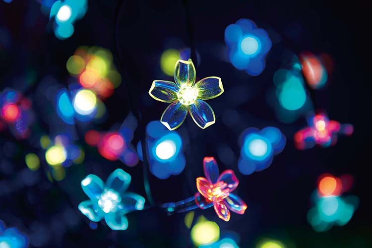 Led Mini Light Flexible Flower Tree String Light/small Led Light/outdoor Multi-color Led Design ...