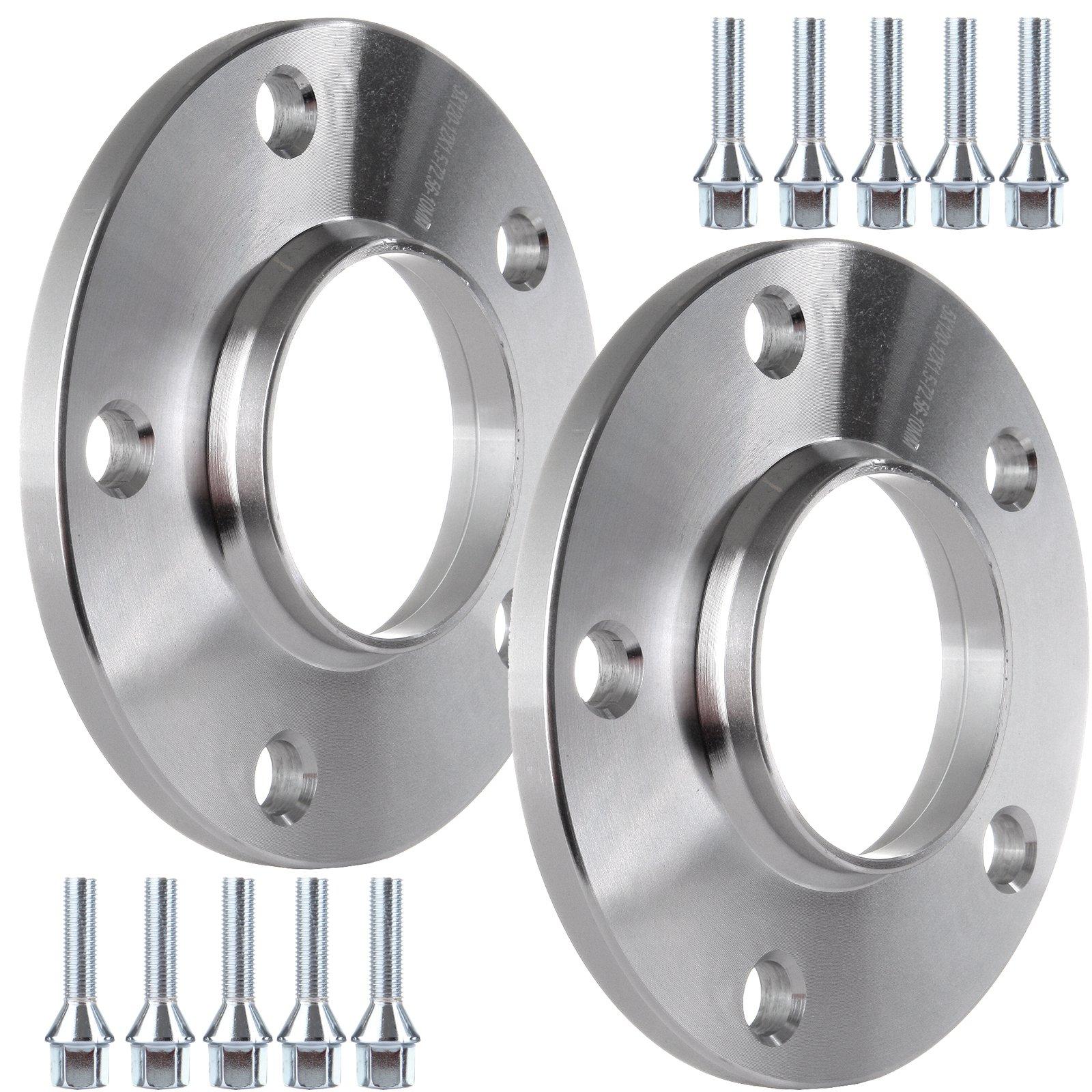 ECCPP Hubcentric Wheel Spacers 2X 10mm Thick Kit 5x120 Fits For BMW E82 E88 E36 E46 E90 E92 318i 135i 335d