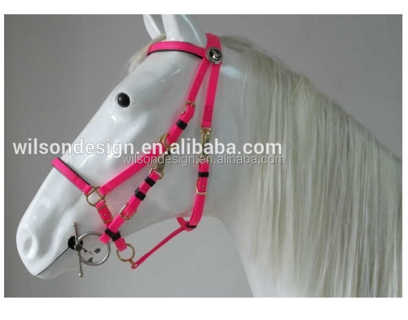 horse racing leather horse bridle