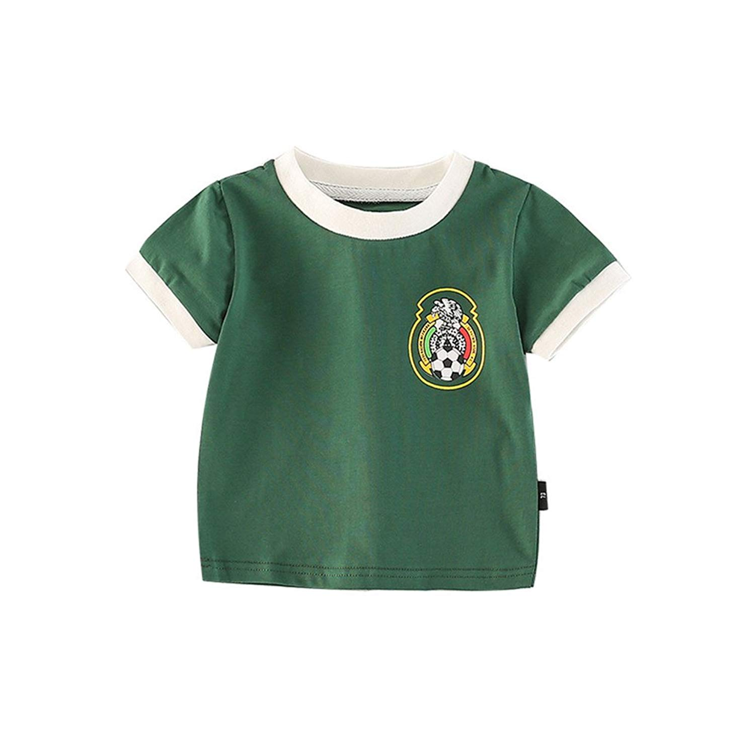 Fairy Baby Toddler Baby Boys Girls World Cup Football Soccer Jersey Shirts Summer Outfit Clothes