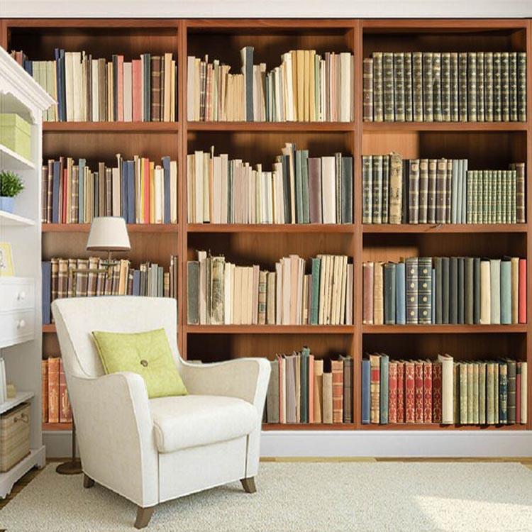 Tapete Bücherregal alibaba aktualisierung wand dekoration 3d bücherregal designs zu
