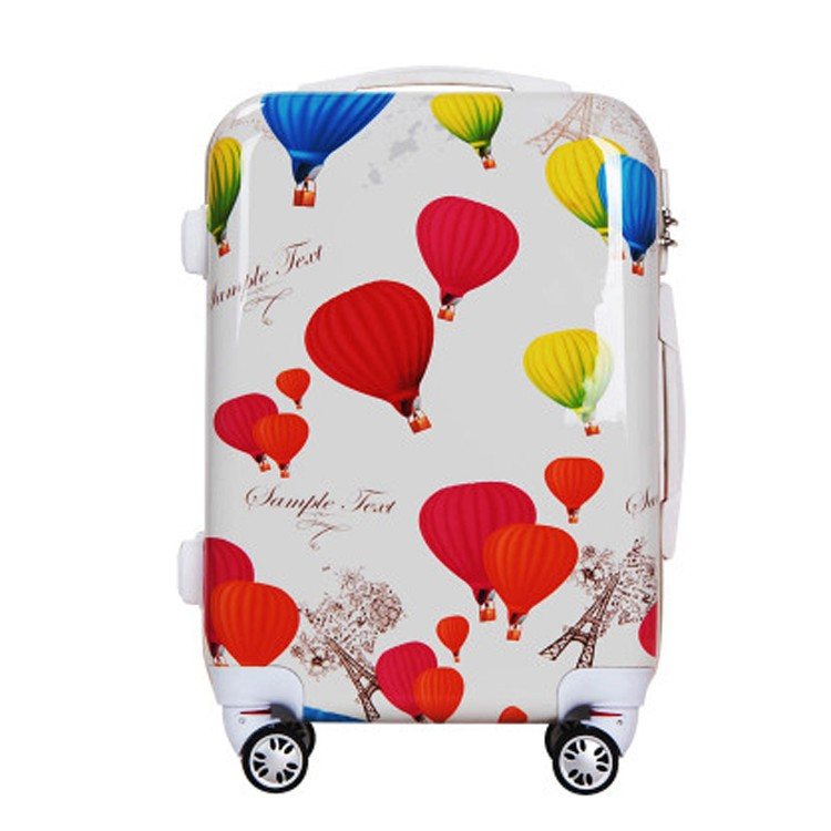 Hello Kitty Kids Small Luggage Trolley Rolling Protective Hard ...