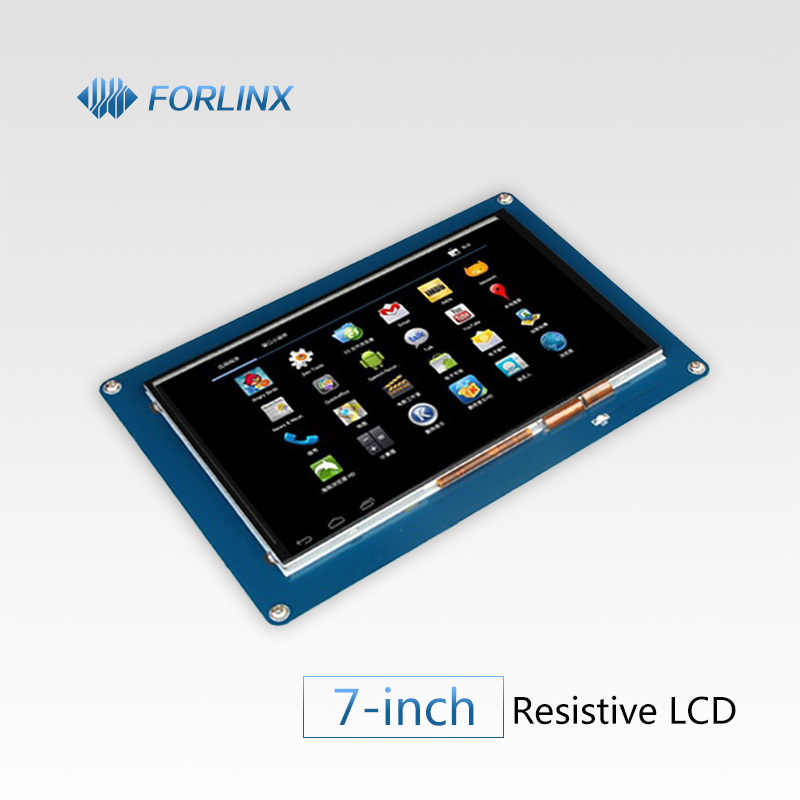 7-inch TFT RGB LCD Module with Capacitive Touching Panel for Forlinx Single Board Computer with Embedded OS Android