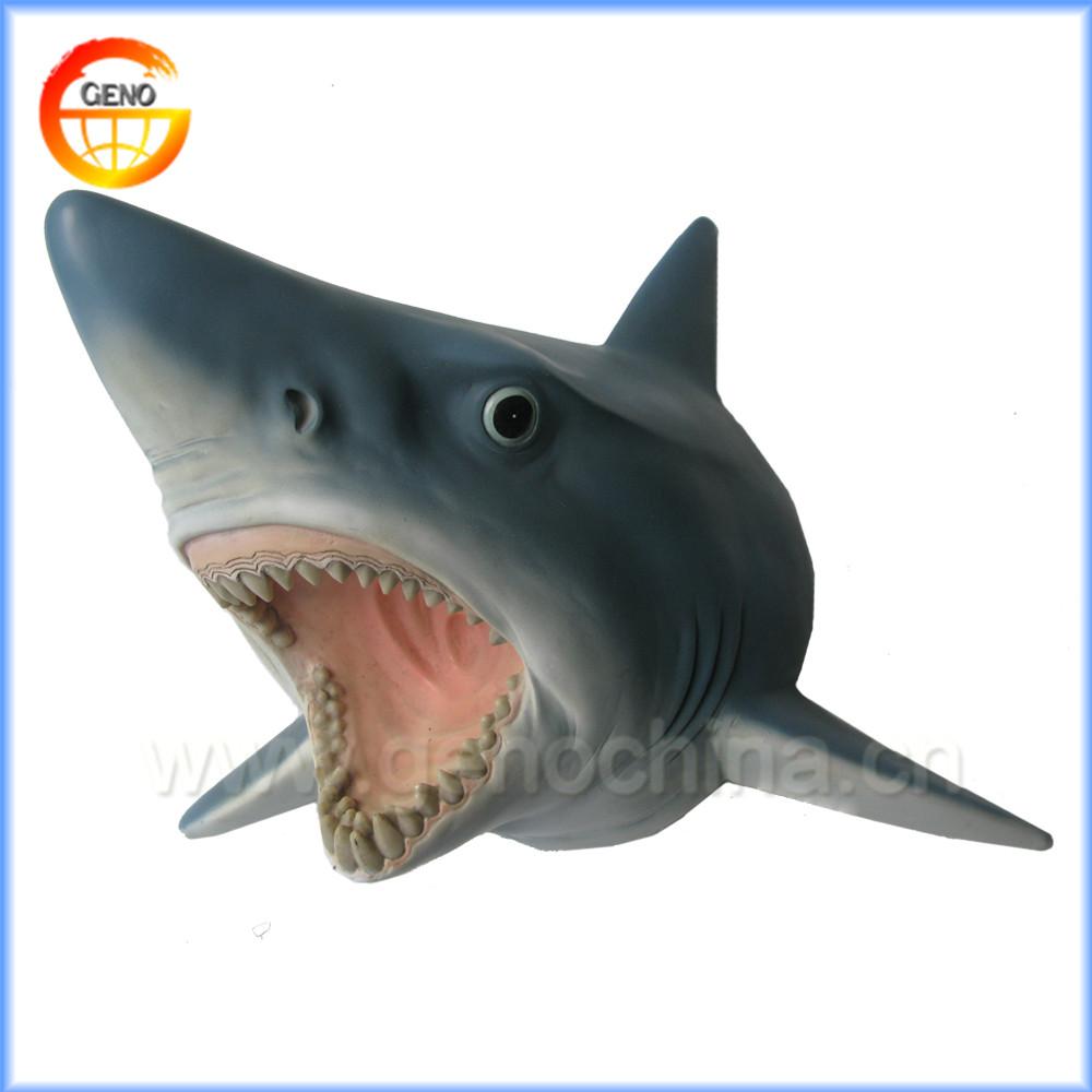 Nieuwe ontwerp haai hoofd muur decoreren huisdecoratie andere home ...