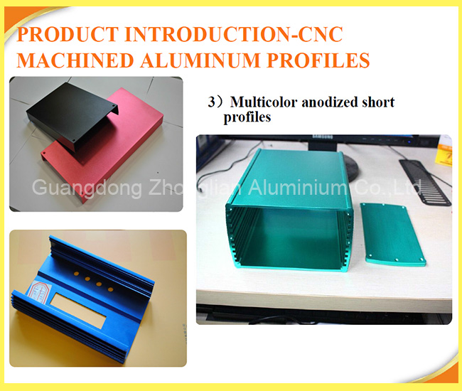 Custom ALUMINIUM electrical housing , aluminium electrical enclosure for chargers with cnc machining