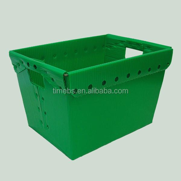 Nestable Polypropylene Pp Corrugated Plastic Mail Totes