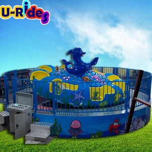 outdoor christmas carousel decoration big carousel 16 seats amusement park games