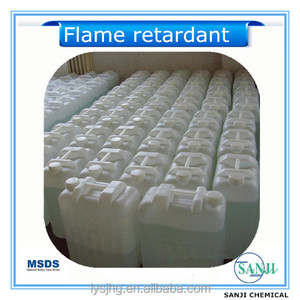 Flame retardant liquid clean