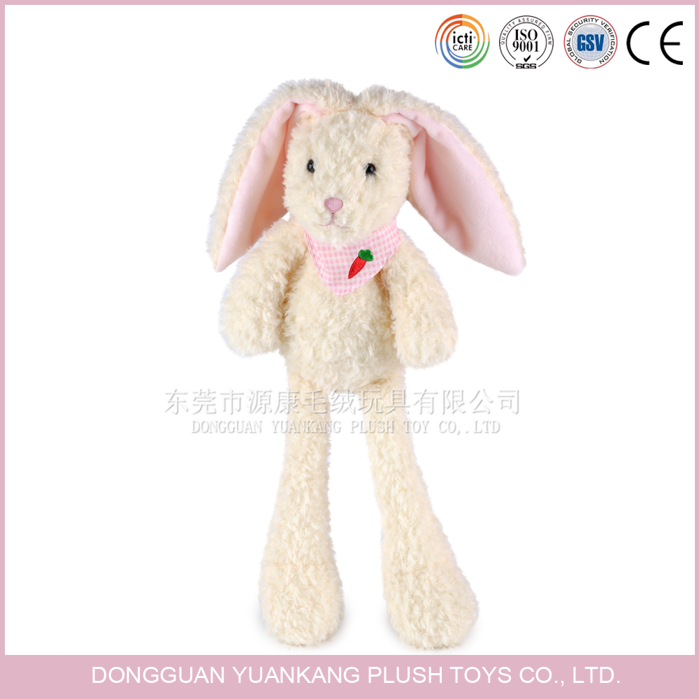 Plush lovely rabbit stuffed toy with long legs