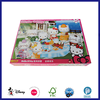 Custom intelligence toy cardboard paper puzzle for kids