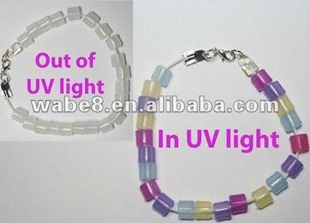bracelet perle uv