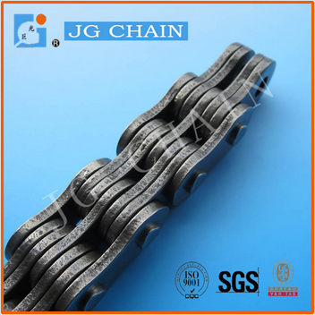LH2066 china made lifting machinery spare parts 40mn steel forklift leaf chain 6x6