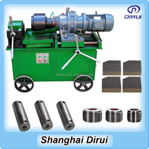 Shanghai Dirui used machinery machine quilting thread Portable rebar threading machine for sale to India