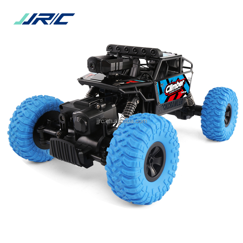 Toy For Kid JJRC Q45 Off Road 1:18 4WD Steering Wheel Ride On Electric 2.4g Wifi Remote Control Car With Camera Kit Nitro RC Car