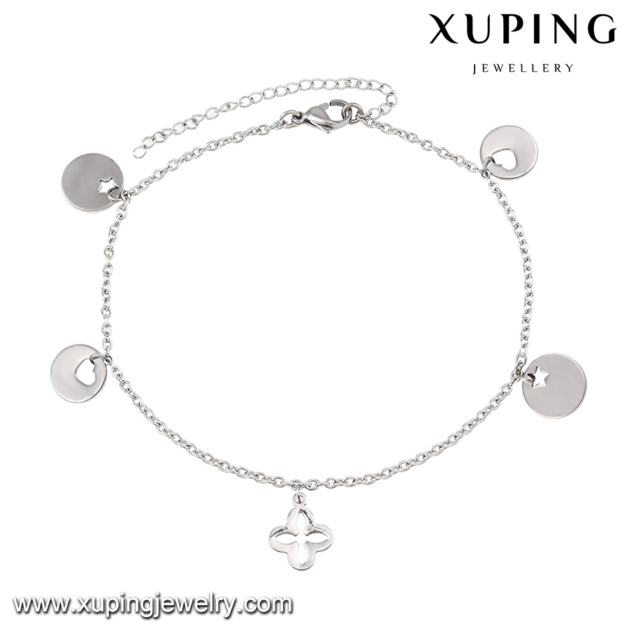 silver br eternity chain locking sterling anklet anklets