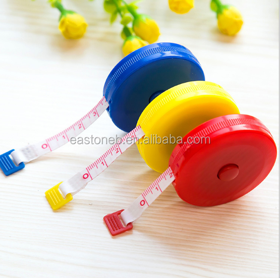 Fine scale plastic tape measure Measuring rule