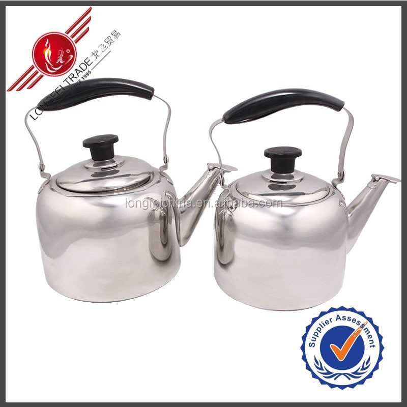 6L Fatory Price Whistling Kettle Tea Kettle Stainless Steel Kettle