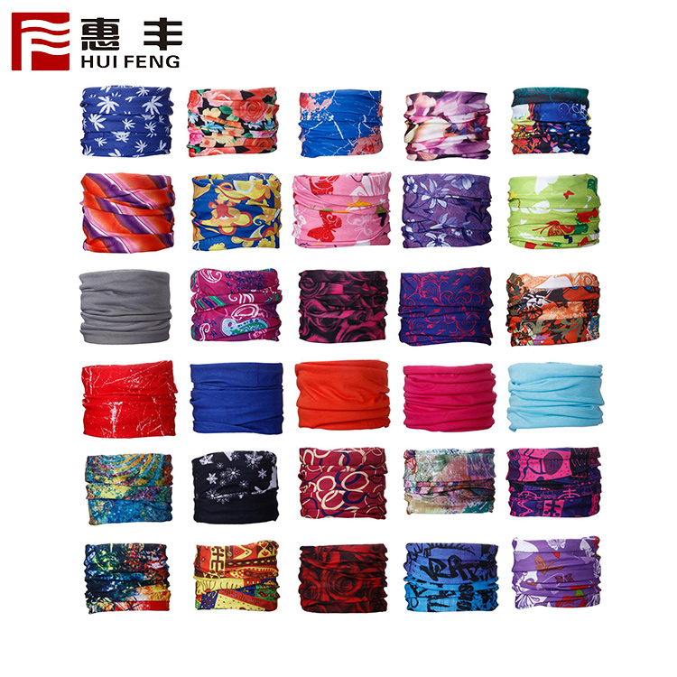 Cheap Custom Bandana Printing Wholesale Multifunctional Seamless Neck Tube Bandana