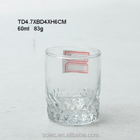 clear glass water drinking cup gift set tableware promotional drinking glass
