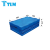 Direct Sales Durable Heavy Duty Security Plastic Blue Foldable Container box for Apparel