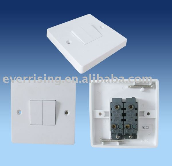 Two Gang One Way Wall Switch Two Gang One Way Wall Switch Suppliers