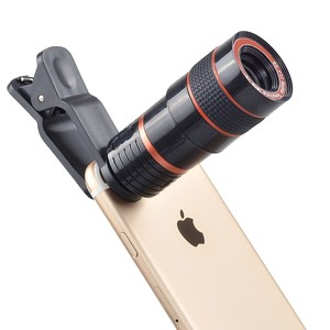 High Quality Wide Angle Travel Universal Clip Mobile Phone Camera Lens Zoom