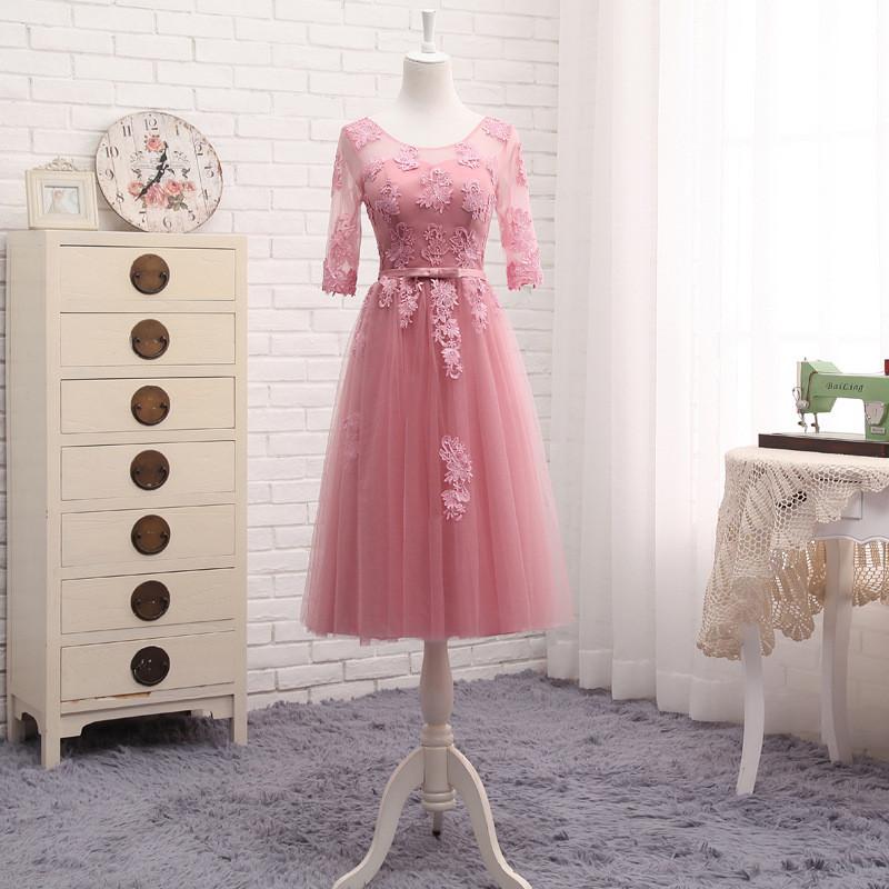 Venta al por mayor estilos damas de honor-Compre online los mejores ...