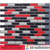 Top grade supplier wholesale self stick design wall tile for kitchen and bathroom