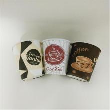 custom printed coffee paper cup take away cup/cold drink cup
