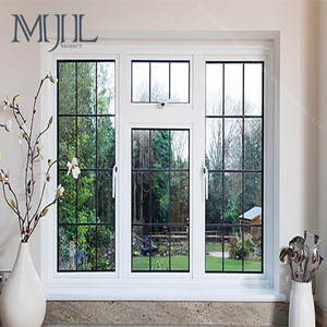New Design Best Price Analog Aluminum Bay Glass Window, Powder Coated Pictures Aluminum Window and Door