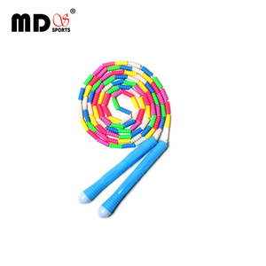 Hot Selling Cartoon Soft Beaded Jump Rope Kids Jump Rope for Kids Fitness