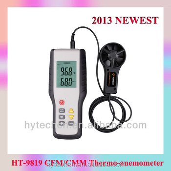 Portable Industrial Measuring Instrument Ht-9819 Anemometer Records Cfm  Meter - Buy Cfm Meter,Cfm Monitor,Cmm Anemometer Product on Alibaba com