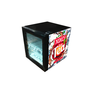 best selling 52L most popular counter top mini display cooler refrigerator