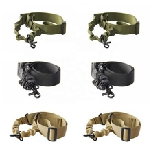 Neue Nylon Einstellbare Multi funktion Tactical single point Bungee Airsoft Sling Strap <span class=keywords><strong>Jagd</strong></span> Lieferungen